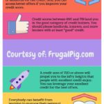 Credit Score Rankings, Explanations, and an Infographic